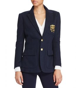 Example of tailored school boy blazer